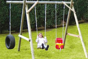 Schommels in Hout online - speeltoestellen kopen