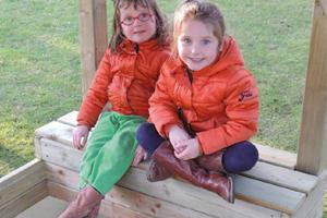 Zandbakken in hout voor kinderen