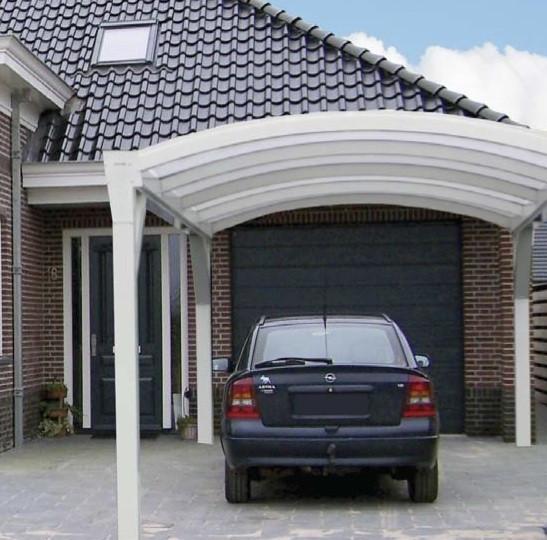 Carport Wit Helder