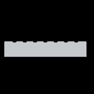 TERRASPLANK GEIMPREGNEERD 28X145MM 3.6M