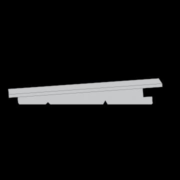 GEVELBEKLEDING PIN DE LANDES 21X145MM