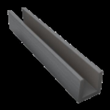 DUOFUSE OMHEINING KLEIN U-PROFIEL STONE GREY 1.82M