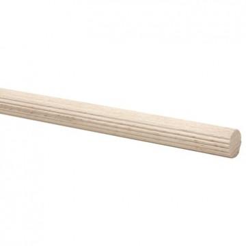 Gerilde stok beuken Ø 15mm 100cm