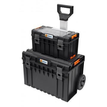 IV KOFFERSYSTEEM 1 SET TROLLEY PRO + BOX 500 PRO