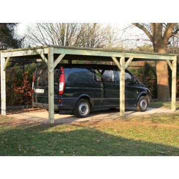 Grenen Carport 318 x 624cm
