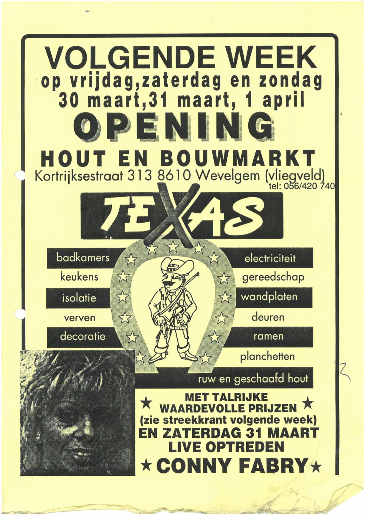 Opening Texas Hout en Bouwmarkt