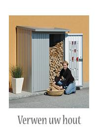 brandhout opslag