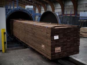 geimpregneerd hout